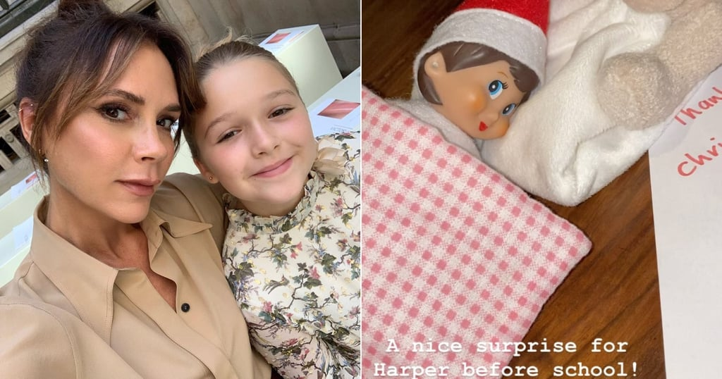 Victoria Beckham's Elf on the Shelf For Harper 2019