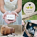 "Add Chic French Details to Your Big Day  If you're engaged, then félicitations! (That means congrats in French.) For your big day, have your guests saying ""oh, la la"" with chic French details. Cartes postales, lavender, French signs, and, of course, Champagne will do the trick. Here are more ideas for your wedding."