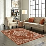 Hearth Area Rug in Red