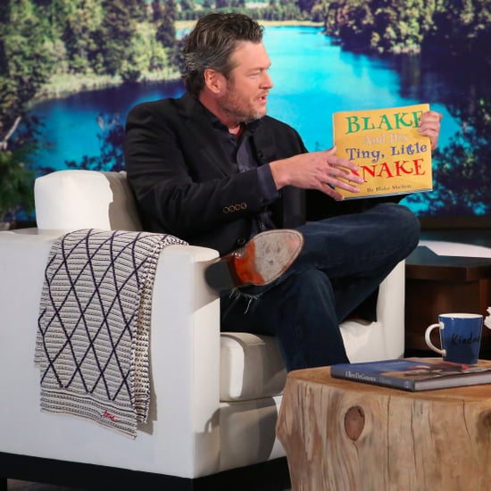 Blake Shelton on The Ellen Show December 2016