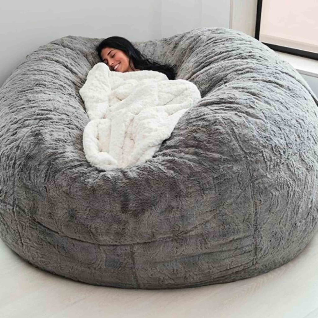 the bigone bean bag from lovesac popsugar family. Black Bedroom Furniture Sets. Home Design Ideas
