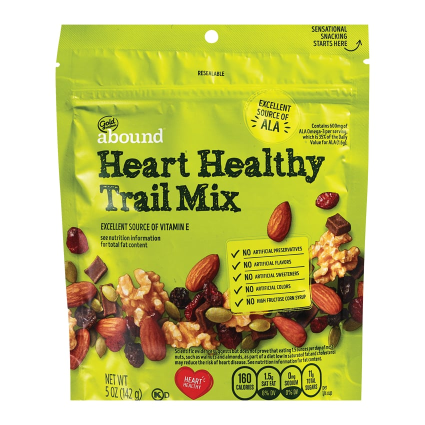 Gold Emblem Abound Heart Healthy Trail Mix