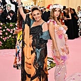 Diane von Furstenberg and Talita von Furstenberg at the 2019 Met Gala