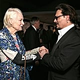 Pictured: Vivienne Westwood and Johnny Depp