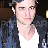 Photos of Robert Pattinson Arriving in Japan