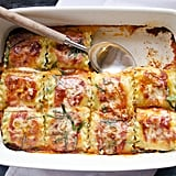 Take the messiness of serving lasagna out of the equation by rolling the pasta with its fillings. Get the recipe: lasagna rolls