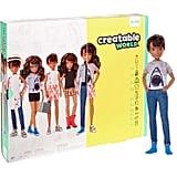 Creatable World Deluxe Character Kit Customizable Doll, Brunette Wavy Hair