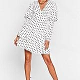Never Tier Us Apart Polka Dot Mini Dress