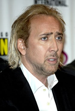 Picture of Nicolas Cage With Blond Hair