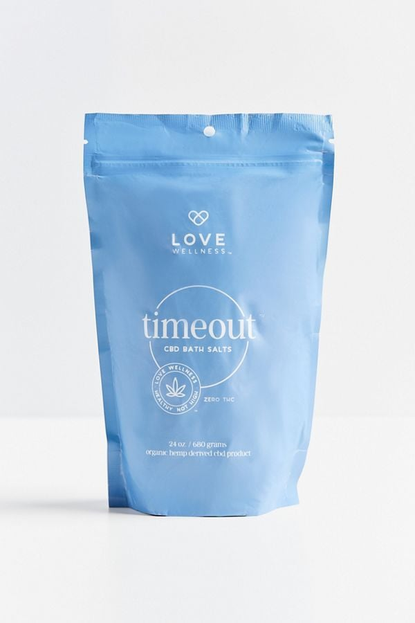 Love Wellness Timeout CBD Bath Salt