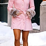 In a Pink Coat in 2002