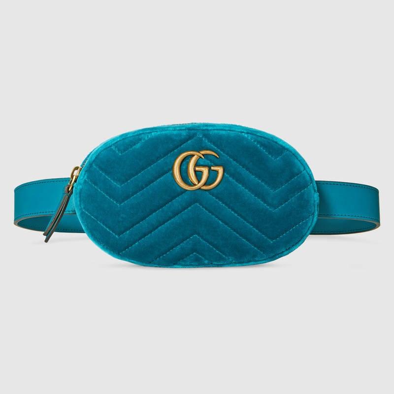 Gucci GG Matelassé Belt Bag