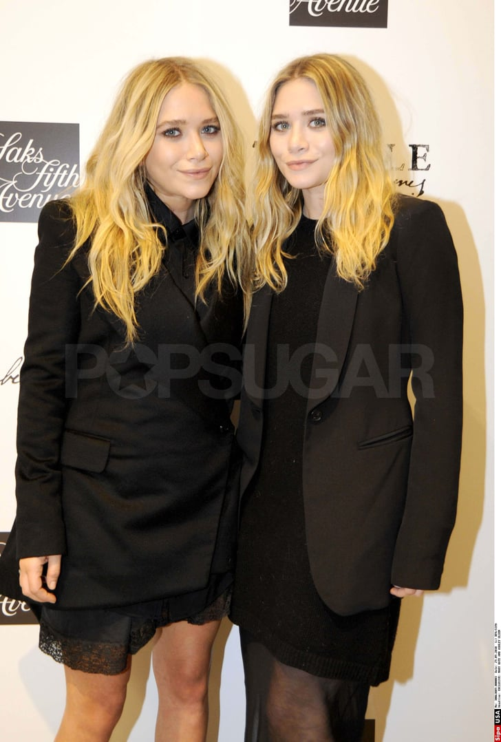Pictures of Mary-Kate and Ashley Olsen at Elizabeth and ...