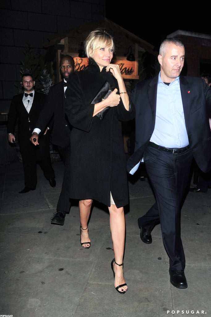 Gwyneth Paltrow and Cameron Diaz Link Up to Toast a New London Hot Spot