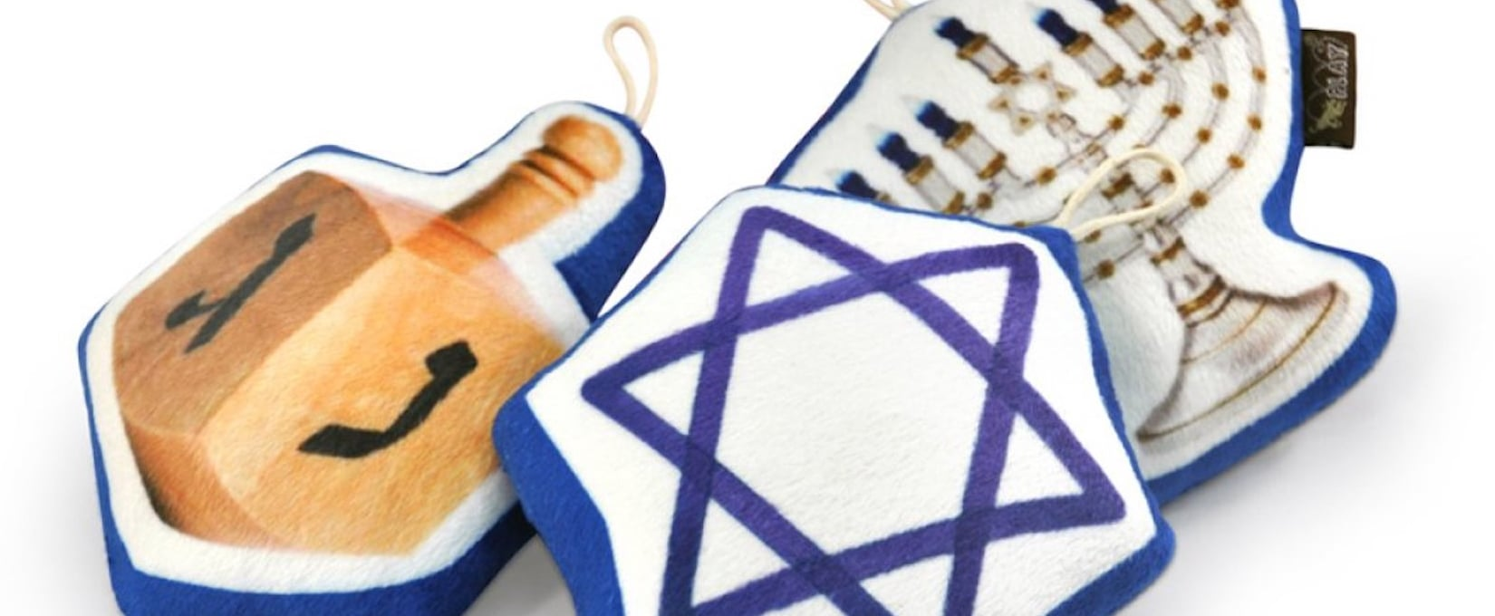 Hanukkah Dog Toys Your Pet Will Love