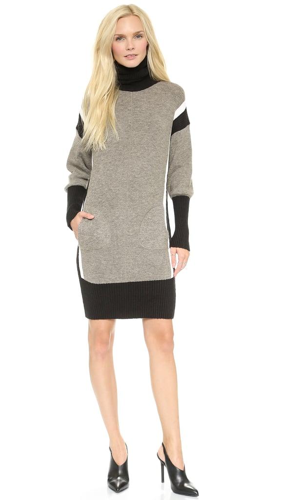 The Colorblock Sweater Dress