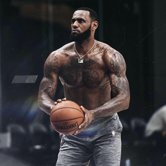 LeBron James Shirtless Photos January 2019