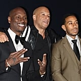 Pictured: Tyrese, Vin Diesel, and Ludacris
