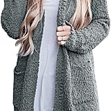 Merokitty Women's Long-Sleeved Soft Chunky Knit Sweater