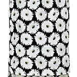 Suno Floral Print Cotton Tweed Midi Skirt