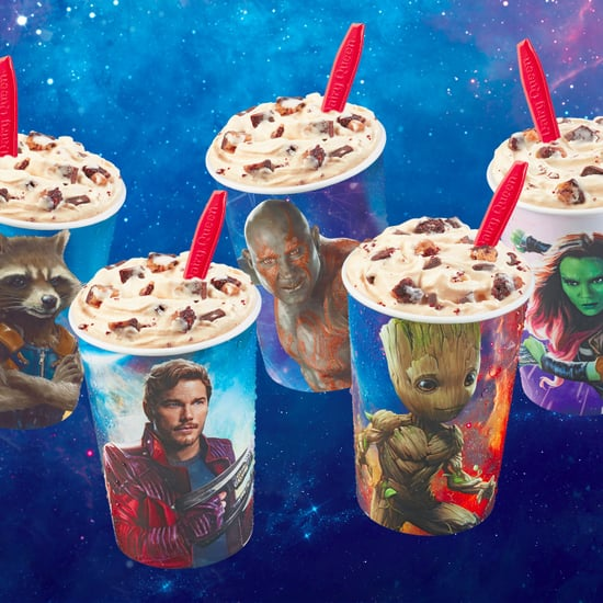 Dairy Queen Guardians of the Galaxy Blizzard