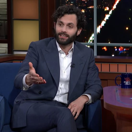Penn Badgley Talks About Netflix's You on The Late Show