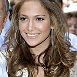 Jennifer Lopez With Subtle Caramel Highlights in 2006