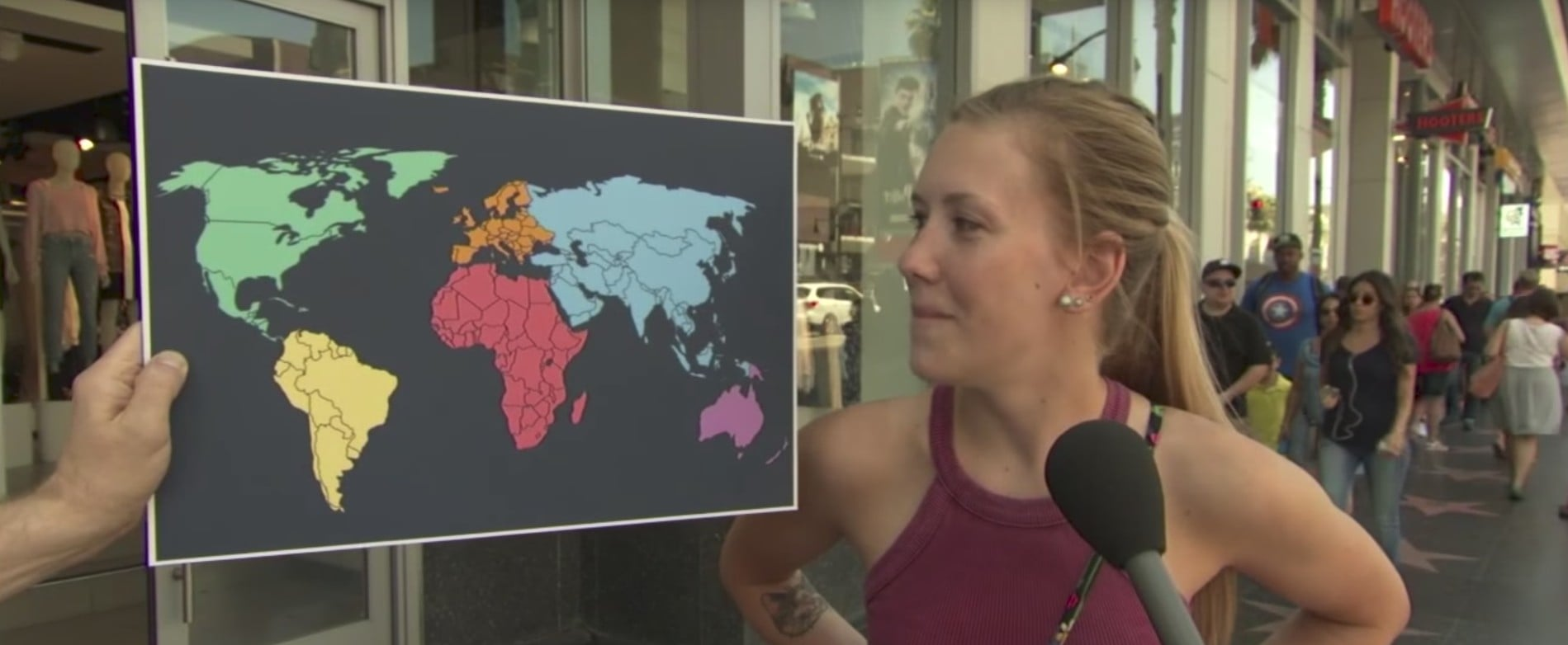 Jimmy Kimmel Asks Americans Where North Korea Is on a Map