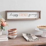Happy Friendsgiving Word Block