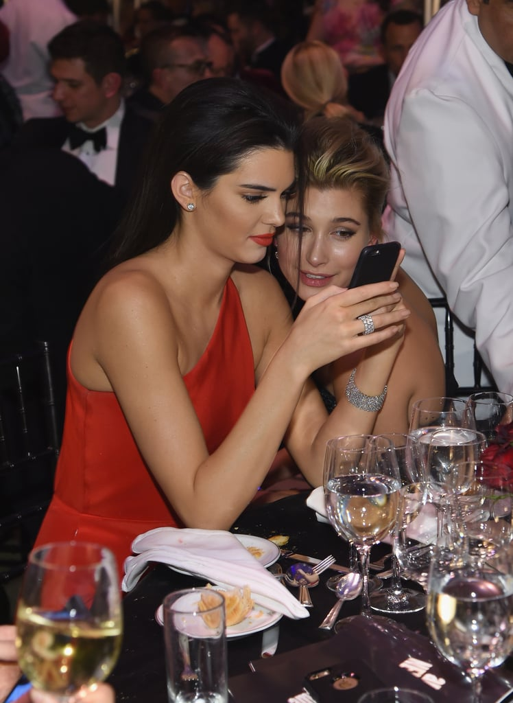 Kendall Jenner and Hailey Bieber Friendship Pictures