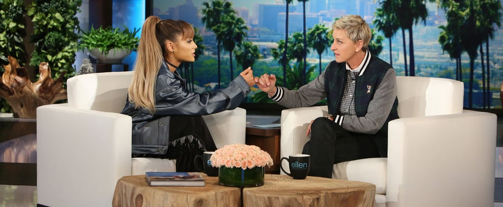 "Ariana Grande Tries to Explain What a D*ck Bicycle Is to Ellen DeGeneres: ""Is It a Banana Seat?"""