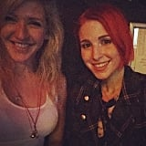Ellie Goulding and Hayley Williams brought out the holiday smiles.