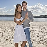 Matty Johnson and Laura Byrne The Bachelor Pictures