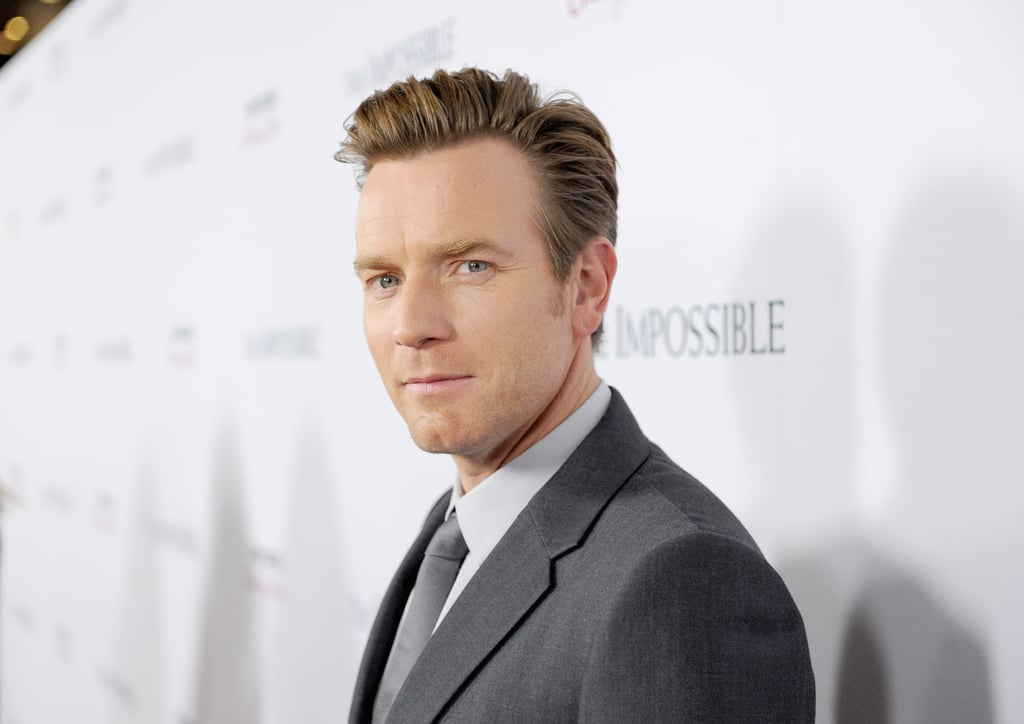 Ewan McGregor posed for photos in LA.