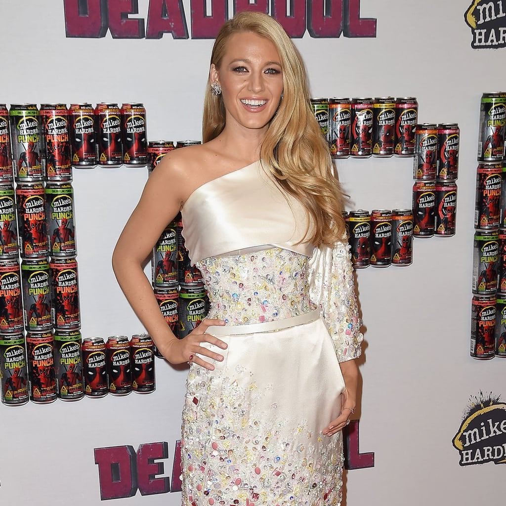 Blake Lively\'s Dress at Deadpool Event | POPSUGAR Fashion