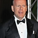 Bruce Willis donned a tux for the opening night dinner at the Cannes Film Festival.