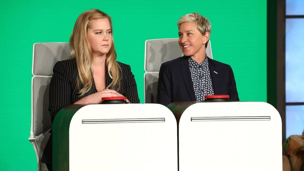 Amy Schumer Answered Raunchy Questions in Front of Her Mom