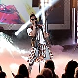 Miguel performed at the Young Hollywood Awards in Santa Monica.