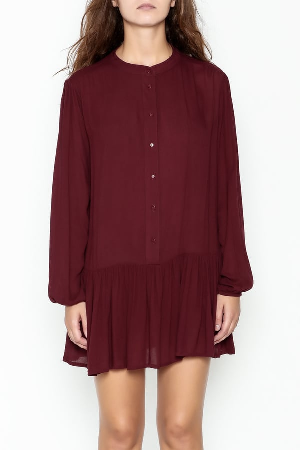 Button Down Tunic Dress