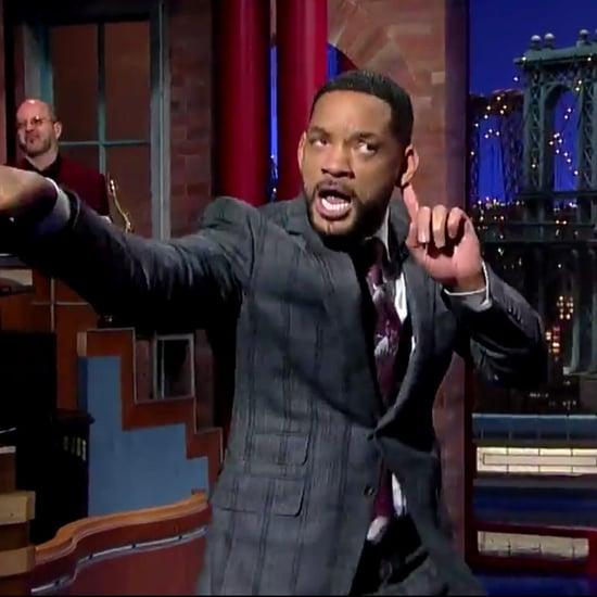 "Will Smith Raps ""Gettin' Jiggy Wit It"" on Letterman"