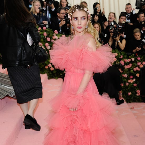 Emma Roberts Pink Dress Met Gala 2019