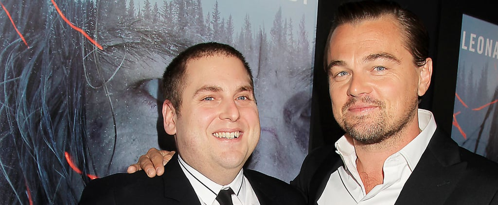Leonardo DiCaprio Gets a Special Visit From an Old Friend at His NYC Screening