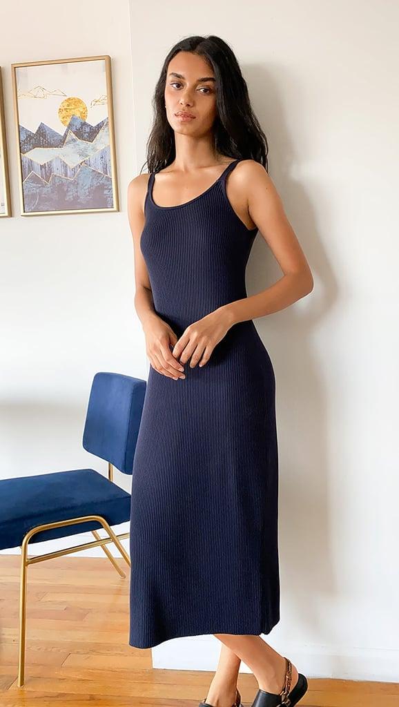 Vince Rib Cami Dress
