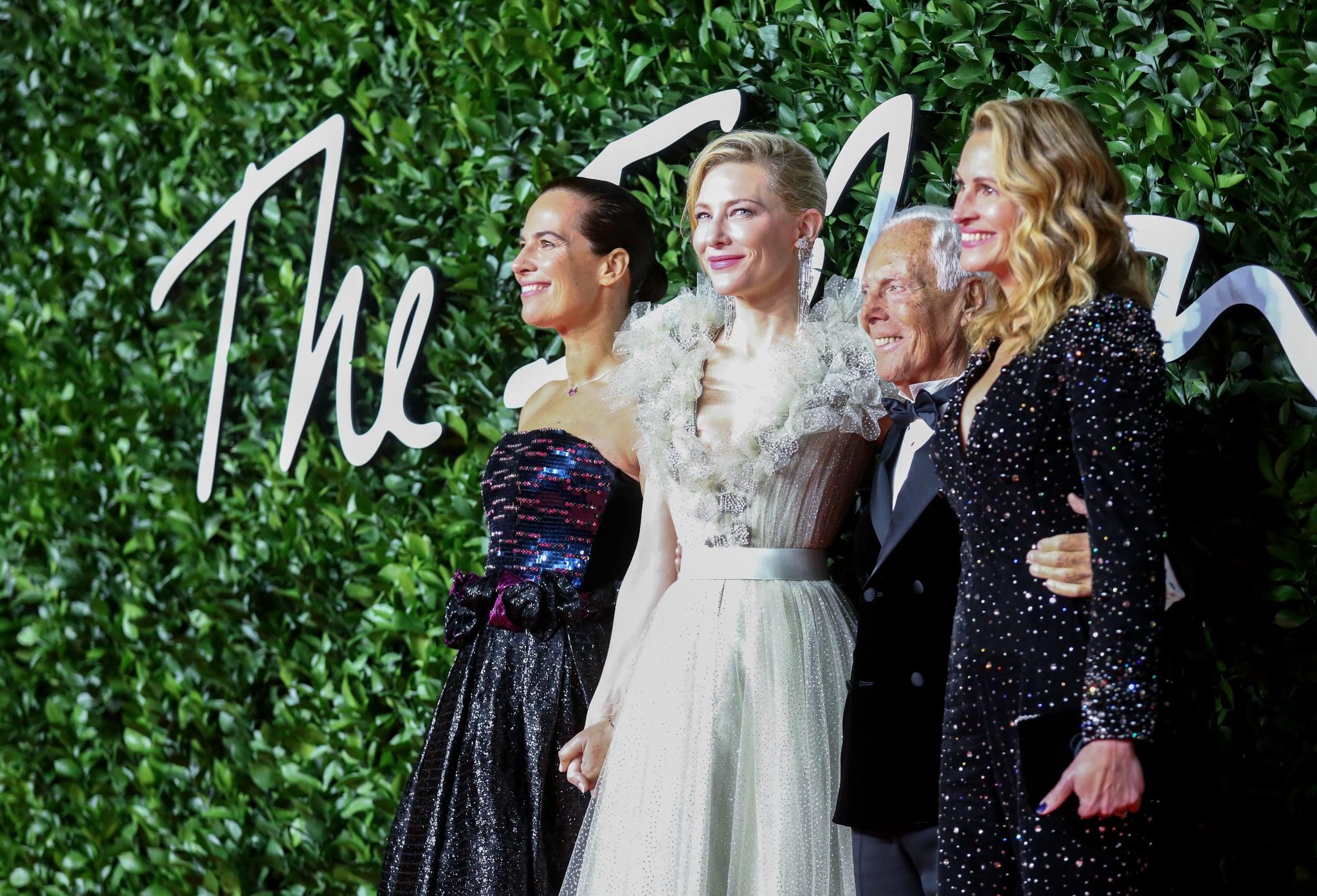 Roberta Armani Cate Blanchett Giorgio Armani And Julia