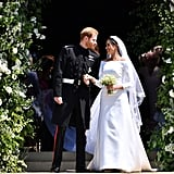 Meghan Markle's Givenchy Wedding Dress