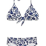 Gap Print Triangle Bikini Top and Hipster Bikini Bottom