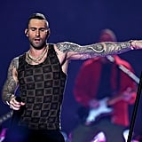Pepsi haltime show performer and Maroon 5 front man, Adam Levine.