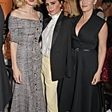Carey Mulligan, Victoria Beckham, and Kate Winslet