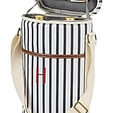Cathy's Concepts Monogram Striped Wine Cooler