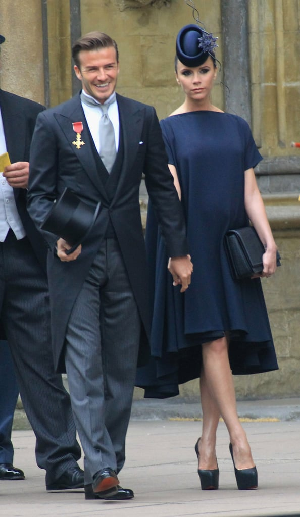 Victoria Beckham's Royal Wedding Ensemble